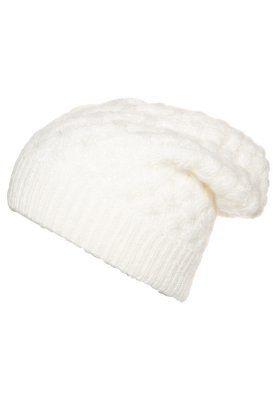 soft white beanie