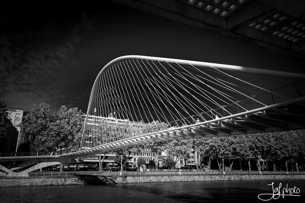 Bridge over Nervión by JGF Photo on 500px