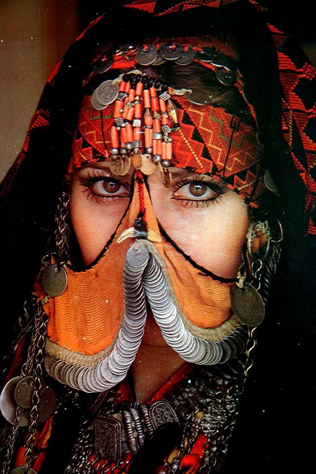 Portrait of a Jordanian woman © Jeff & Janelle