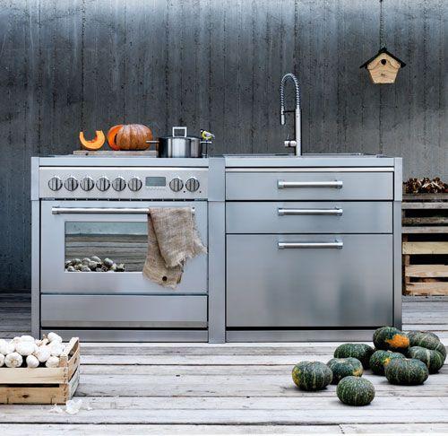 Modulare Küchenmöbel Steel Cucine