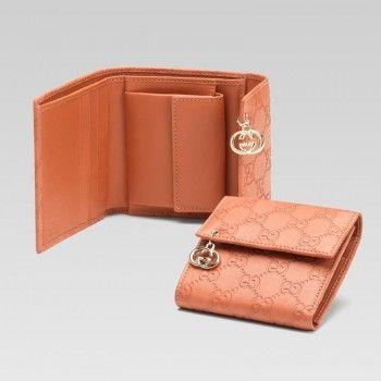 1273219487e97 Gucci 212106 AA61G 6411 Mini-Geldb rse mit Verriegelung G Anzeigen Gucci  Damen Portemonnaie