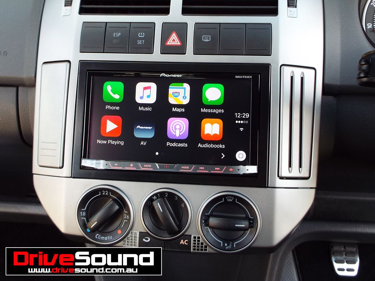 Volkswagen Polo With Apple Carplay Installed By Drivesound Apple