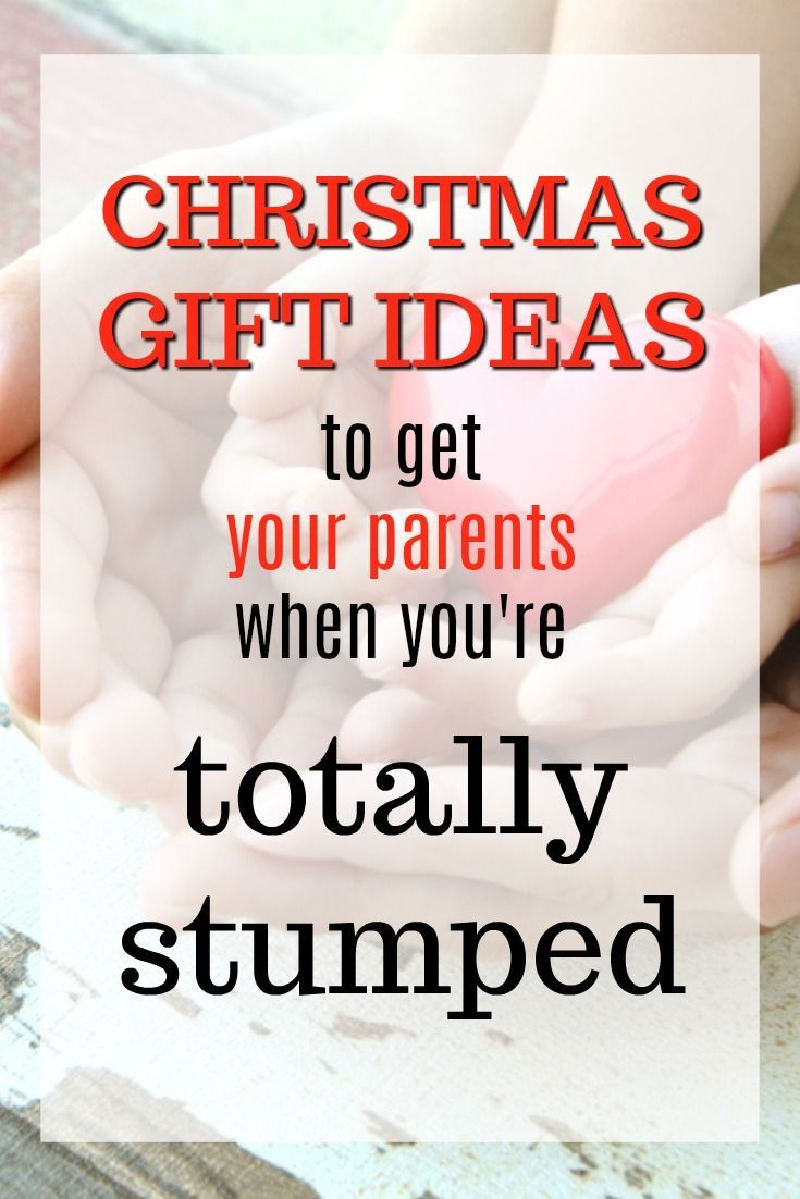20 Christmas Gift Ideas You Can Get Your Parents When You Re
