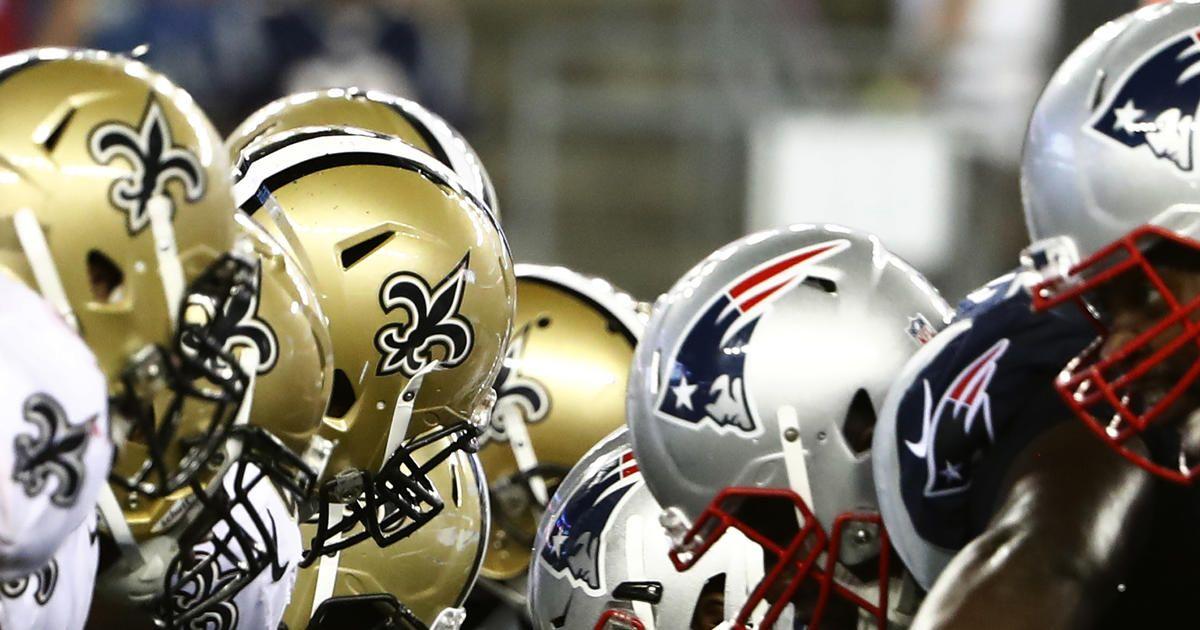 Broadcast information patriots vs saints nfl tickets