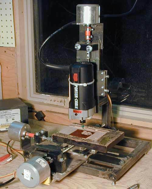 Cheap, Resourceful DIY Mini CNC Router/Mill Contraption