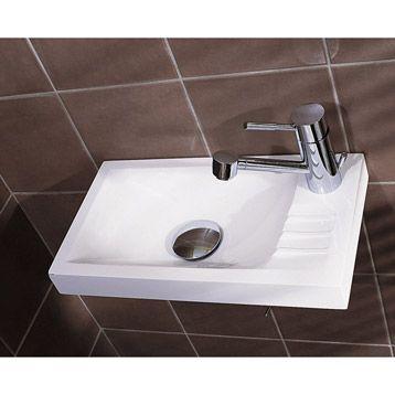 lave mains sucre blanc leroy merlin salle de bain wc. Black Bedroom Furniture Sets. Home Design Ideas