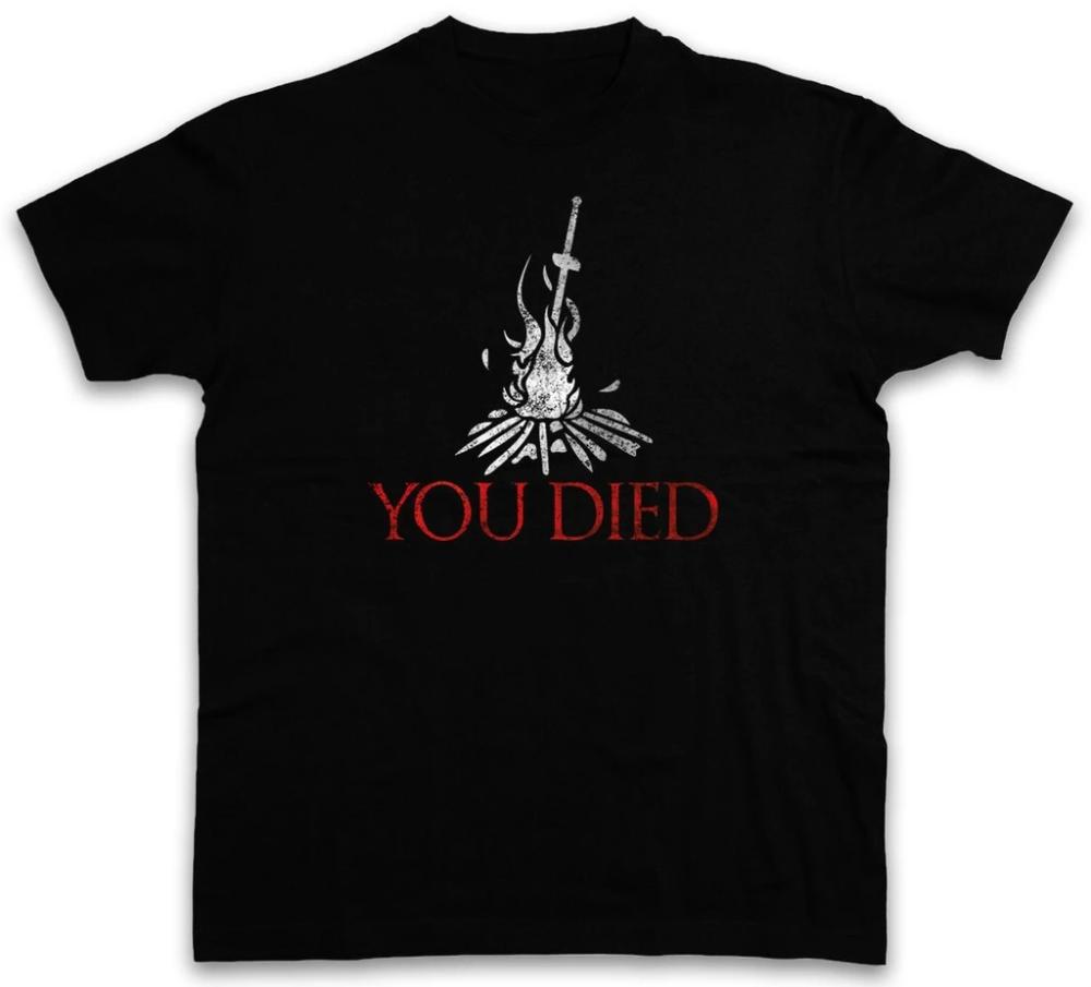 You Died Dark Souls T Shirt Firelink Shrine Dark Gamer Nerd Souls Ga Eqbird Shop Dark Souls T Shirt Dark Souls Dark Souls Shirt