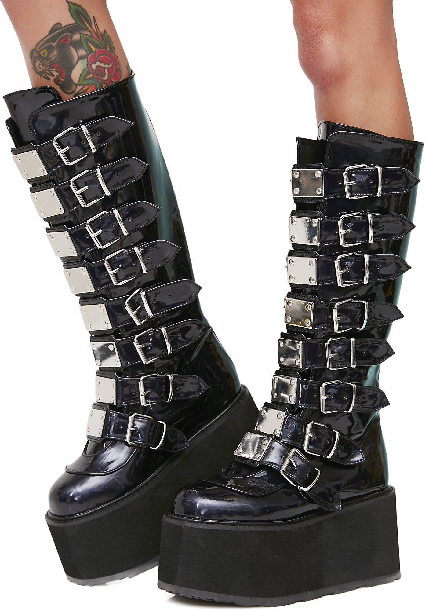 82d93e8d0 Shoes & Boots | goth stuff | Boots, Platform boots, Goth boots