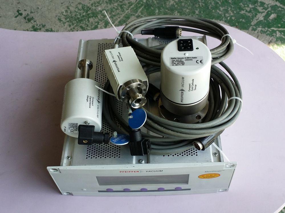 PFEIFFER VACUUM D 35614 Asslar MaxiGauge TPG256A IKR251 CMR261 TPR265