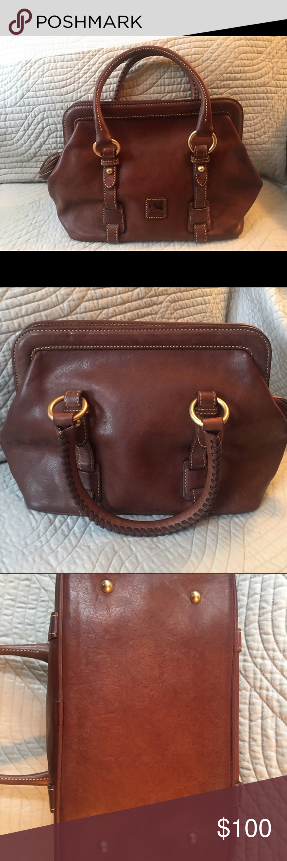 2ddc194fe7e2f1 Dooney and Burke just like new purse Small Mitchell leather purse. Please  note this purse style does not come with a shoulder strap.