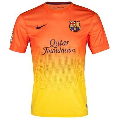 Barcelona Away Shirt 2012/13