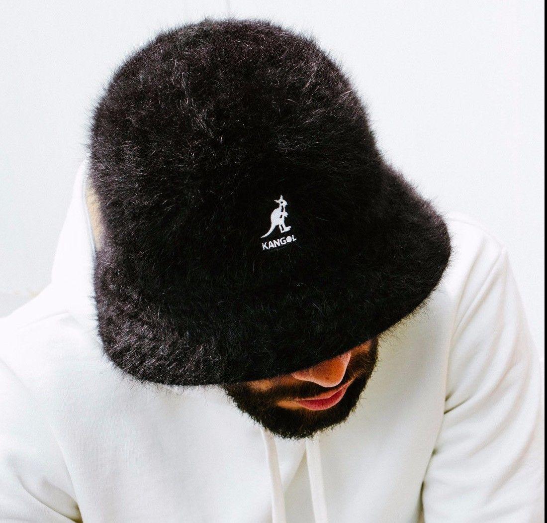 The furry Furgora Casual combines iconic fabric   bucket hat shape to create  a true Kangol d8a34ea5efb8
