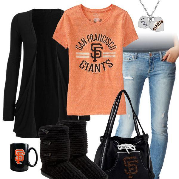 meet 4c92c f36e8 San Francisco Giants Casual Tshirt Outfit | San Francisco ...
