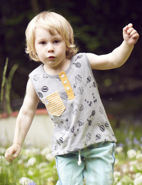 Indikidual: Kids maracca vest Popsie - cool kidswear