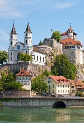 Aarburg Castle Switzerland Places Around The World Beautiful