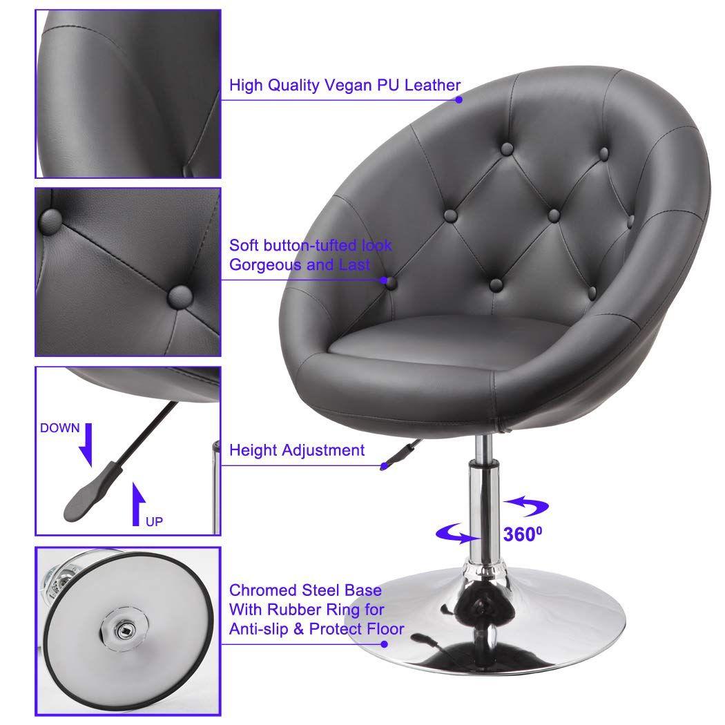 Amazon Com Duhome Elegant Contemporary Vanity Accent Lounge Chair