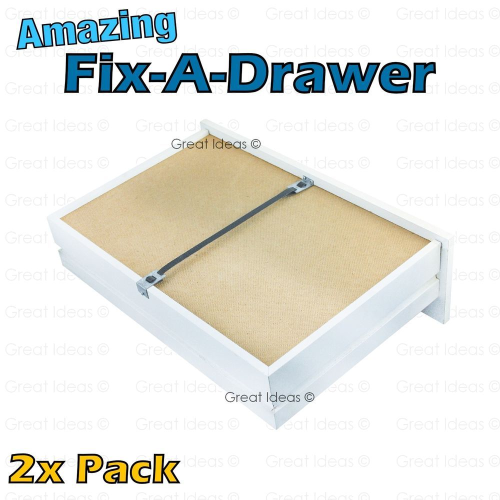 Fix A Drawer X 2 Repair Sagging Bedroom Chest Of Drawers Furniture Value Pack Greatideas Fixsaggingdr Bedroom Chest Of Drawers Drawer Repair Broken Dresser