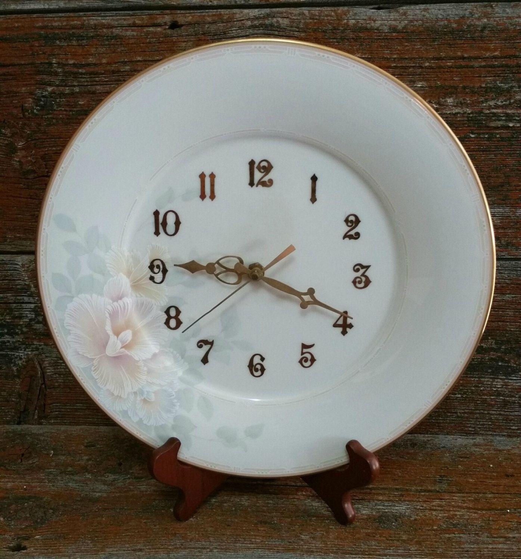 Vintage Noritake China Clock Plate Noritake Sweet