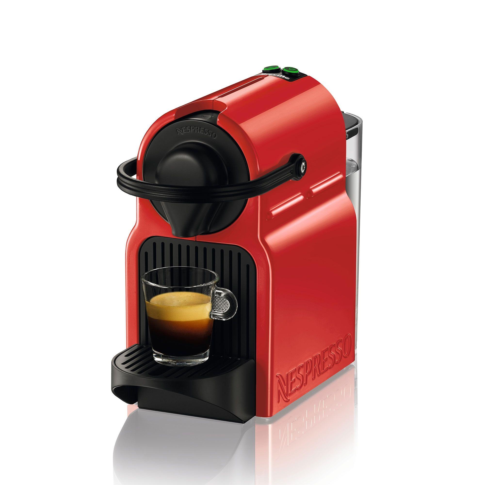 Machine à Capsules Nespresso «inissia» Rouge Par