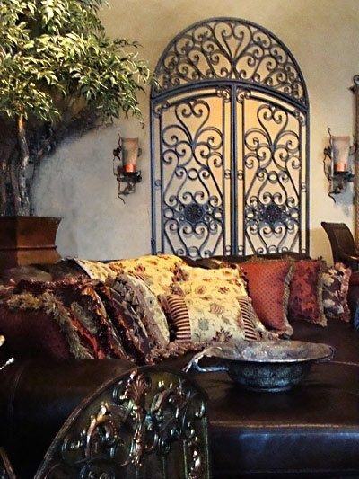 Wrought Iron Wall Decor What About Something Like This For That