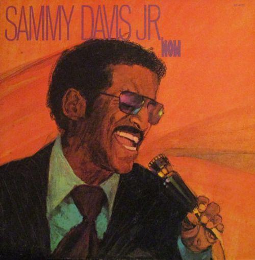 Vintage Vinyl LP Cover: Now, Sammy Davis, Jr., 1972