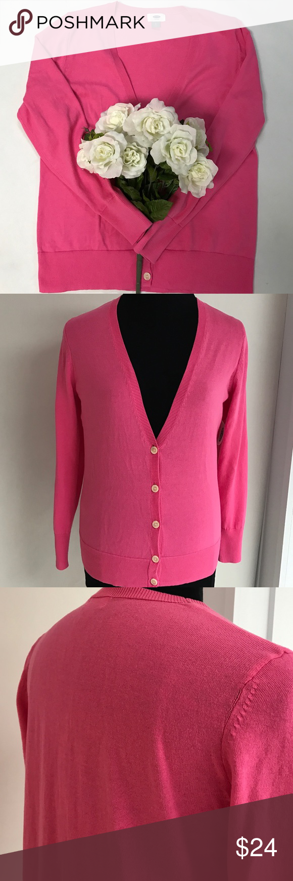 Pretty Pink Sweater NWT NWT | Pink, Neckline and Sweater cardigan