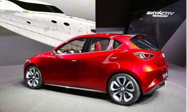2018 Mazda 2 Rear View Mazda 2 Mazda Mazda Cars