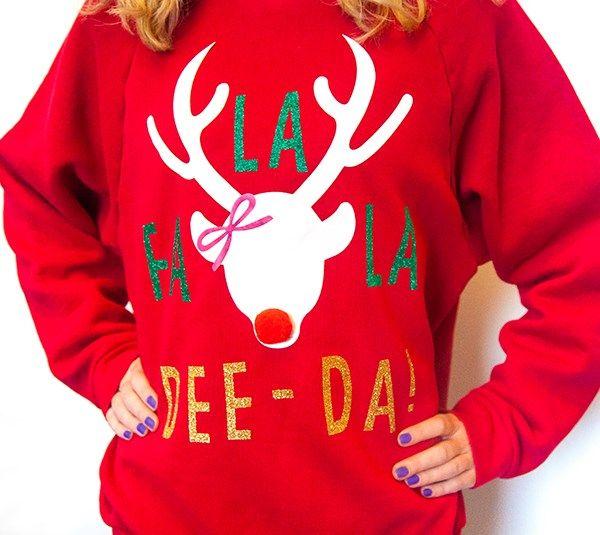 13e94eca587 Holiday Sweater from Cricut Design Space   Cricut   Christmas ...