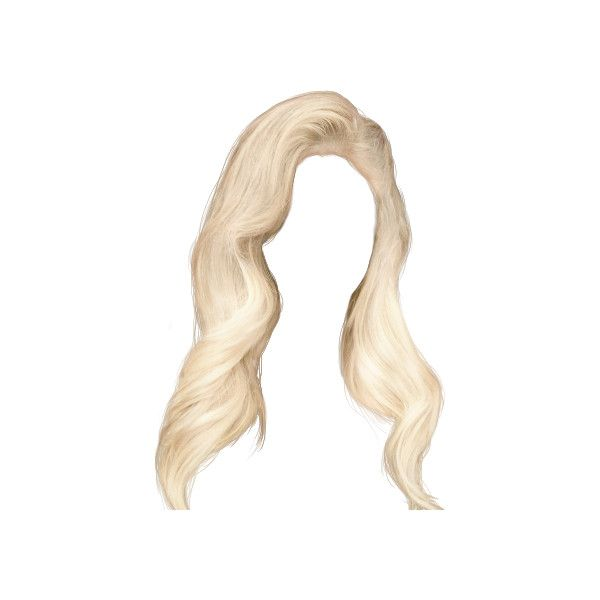 Theoneandonlyಌana Liked On Polyvore Featuring Hair Wigs And Blonde Hair Hair Png Photoshop Hair Doll Hair