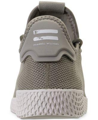 2b2199e89 adidas Men s Originals Pharrell Williams Tennis Hu Casual Sneakers from  Finish Line - Tan Beige 10.5