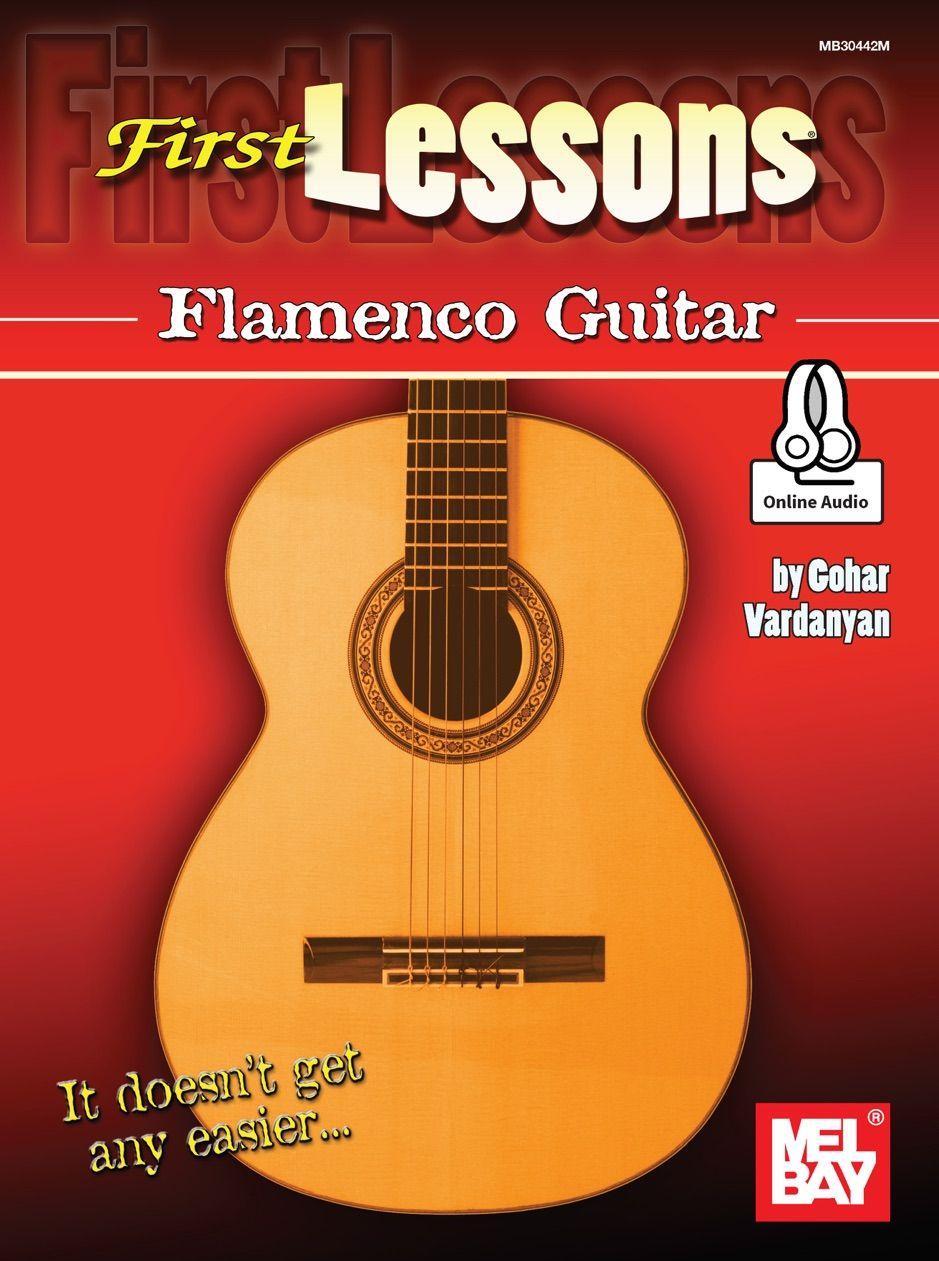 First Lessons Flamenco Guitar , ad, Guitar, books