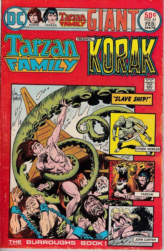 Tarzan Family 61 February 1976 Issue  DC Comics  Grade VG