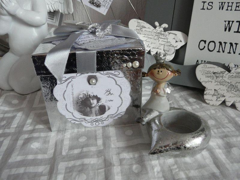 Teelicht Box Schachtel Geschenkschachtel von Plan B auf DaWanda.com