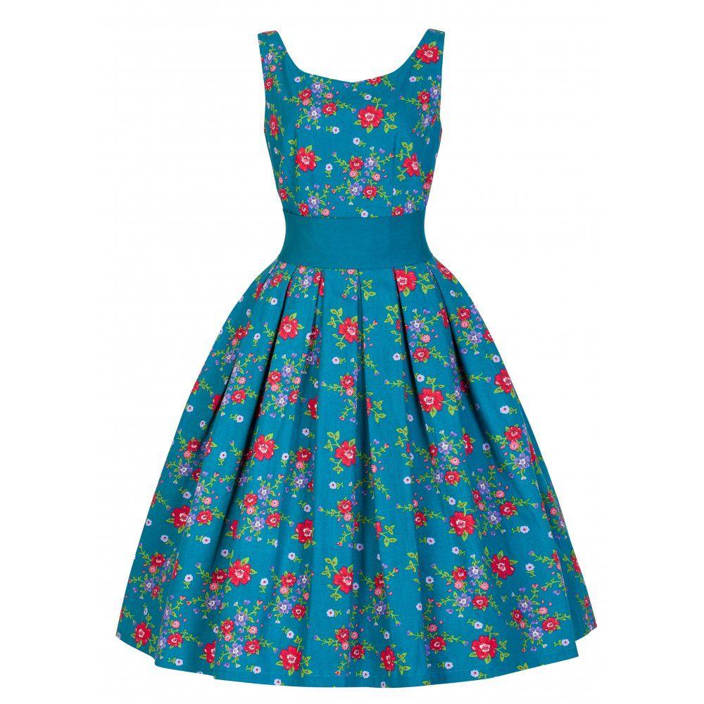 Lana\' Elegant Vintage 1950\'s Garden Party Prom Dress | Bridesmaid ...
