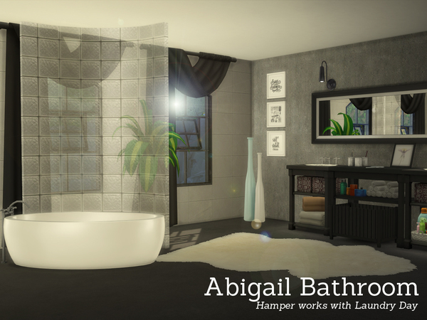 Angela S Abigail Bathroom Sims 4 Cc Furniture Sims 4 Sims