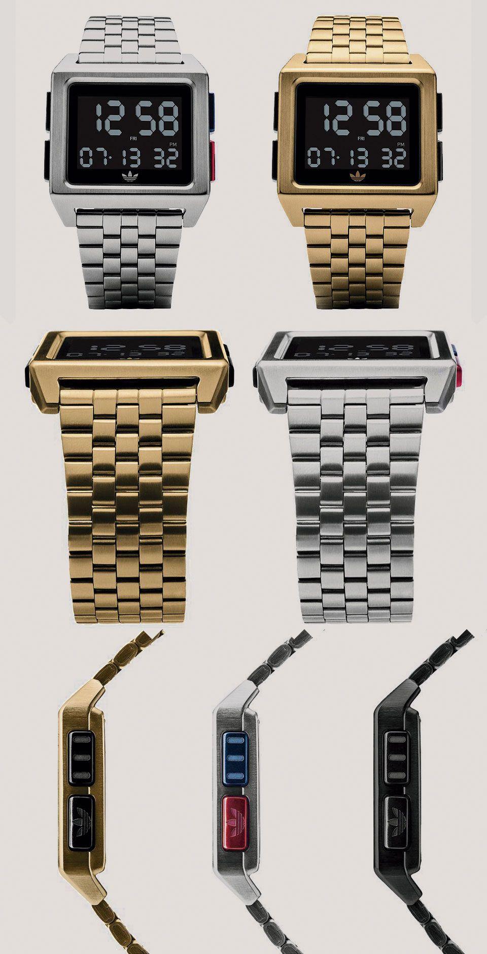 5fd060d3e626 El reloj Adidas Archive M1 se inspira en la populares zapatillas Adidas NMD  - Fabricado en