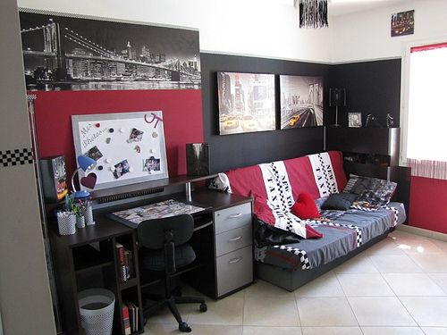 id e d coration chambre ado fille for the home. Black Bedroom Furniture Sets. Home Design Ideas