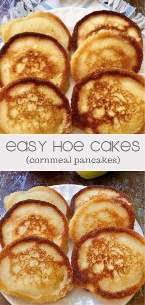 Easy Hoecakes aka Cornmeal Pancakes images