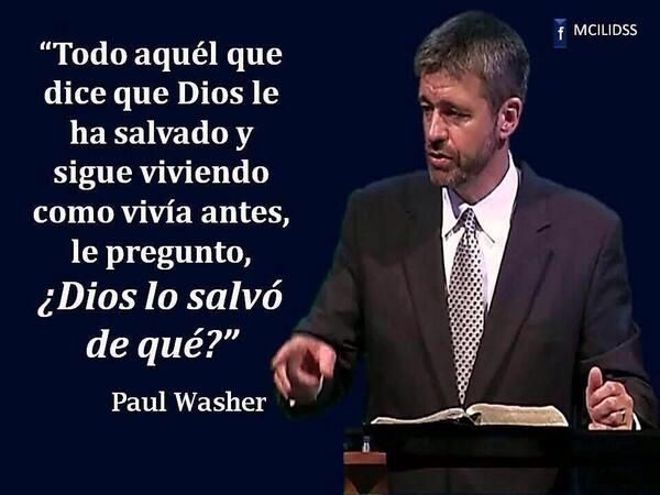 Well-known Paul Washer #FrasesDeBendición | No Se | Pinterest | Washer, Dear  ET56