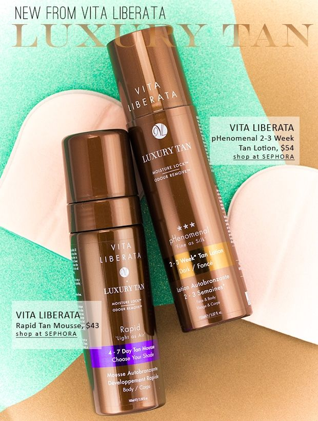Vita Liberata Luxury Tan Rapid Tan Mousse Phenomenal 2 3 Week