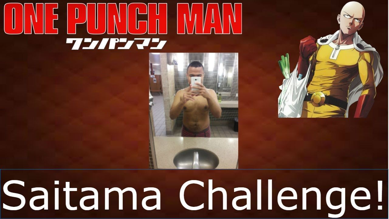 SAITAMA CHALLENGE DAY 7 OF 7 WEEKLY WORKOUT AND RESULTS ...