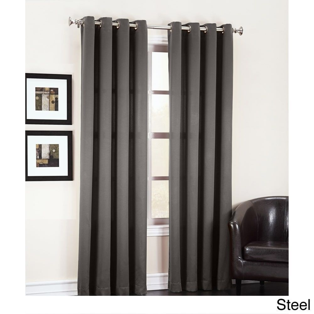 Berardi Striped Room Darkening Rod Pocket Single Curtain Panel