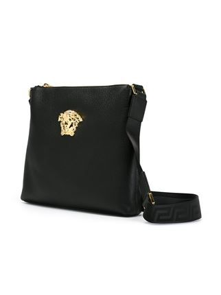 c18f57774a38 Versace Medusa messenger bag