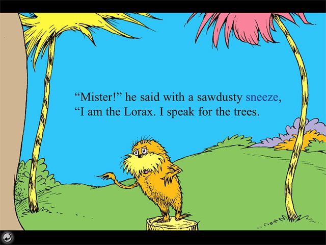 The Lorax Quotes Pintheatre Of Youth Toy On Seussical  Pinterest  Tree