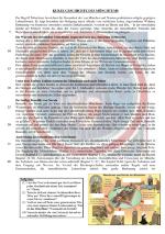 Hier ein kleines Arbeitsblatt zum Einstieg in das Thema Mönchtum. Es ...