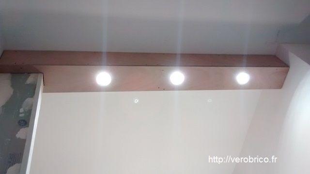 Fabrication D Une Rampe De Spots Rampe De Spot Cloison Lampe Plafond