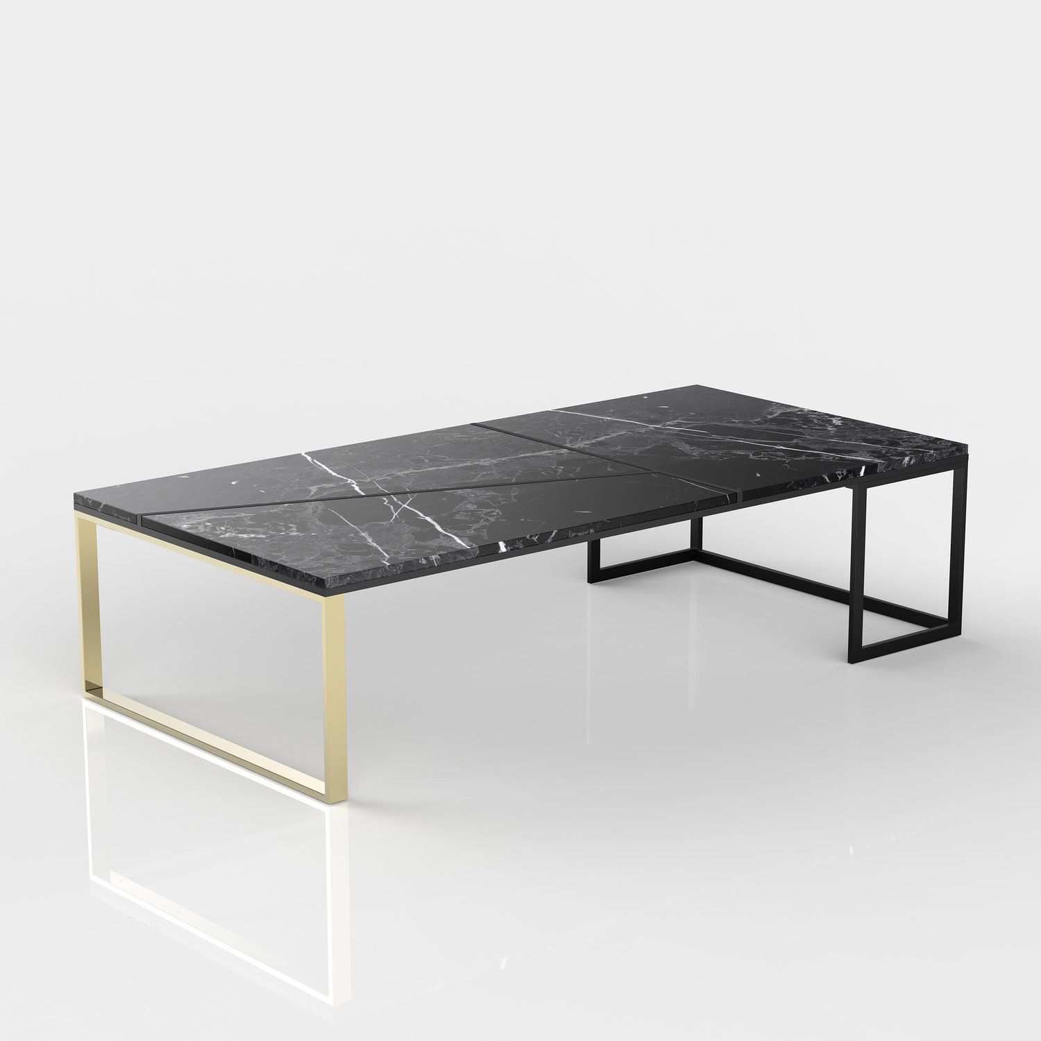 Hialeah Coffee Table Large Rectangle Coffee Table Reclaimed