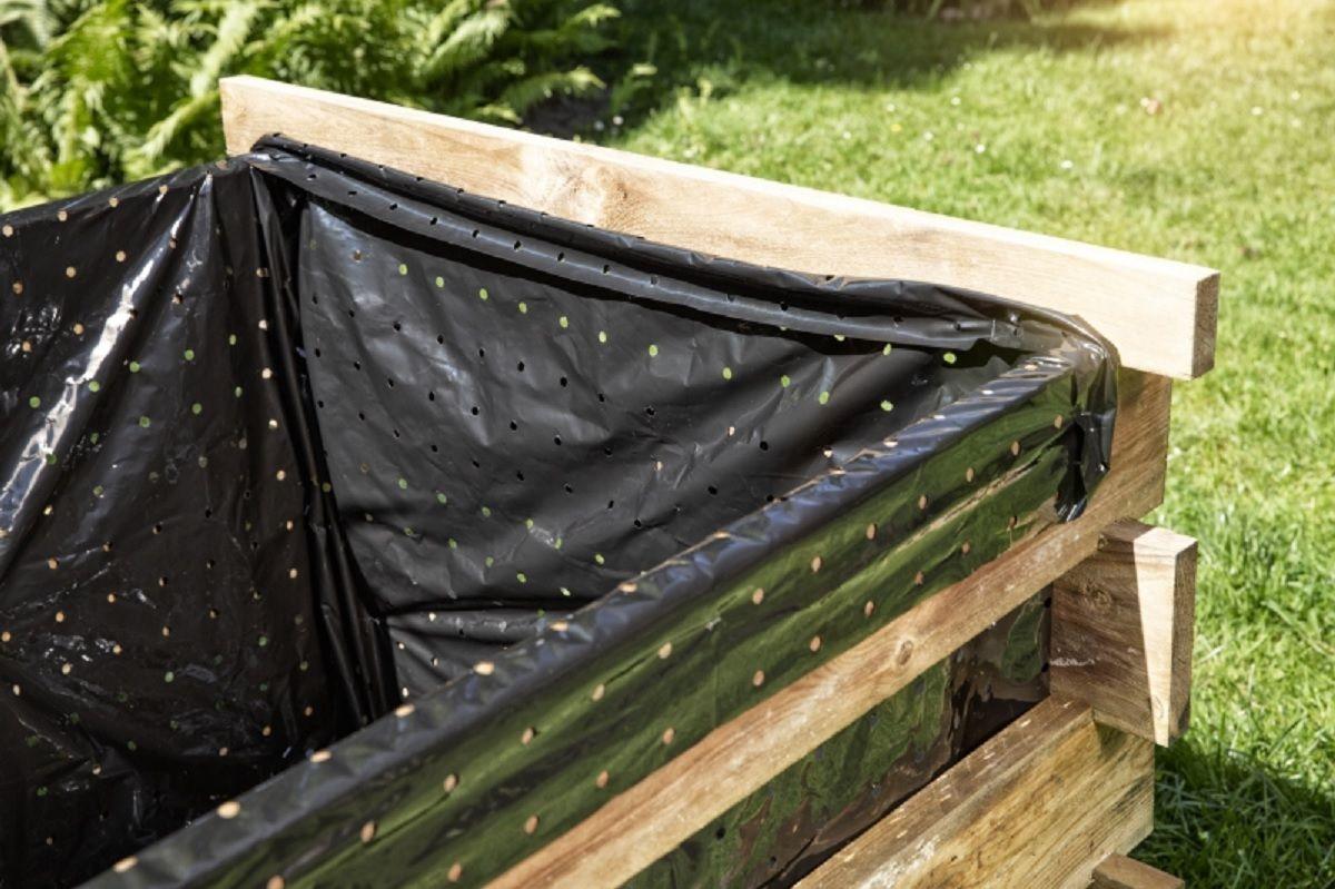 Komposterfolie Einlage Fur Komposter 3er Set Kompost Gartenabfall Wasserfass