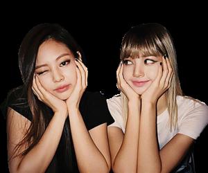 Imagen De Blackpink Lisa And Jennie Blackpink Kpop Png