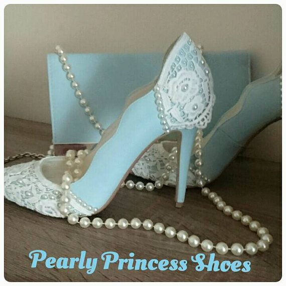 Shop For Blue Wedding Shoes On Etsy The Place To Express Your Creativity Through Buying And Selling Of Handmade Vintage Goods